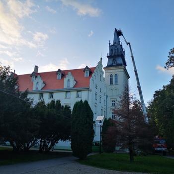 Galeria Prace budowlane na wieży